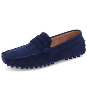 Comfortable Men New Casual  Moccasin Ridged Shoes