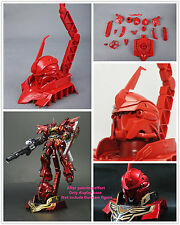 Daban 1/48 MSN-06S Sinanju head Display Base for Bandai HG 1/144 Gundam