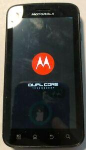 READ FIRST Motorola ATRIX 4G 16GB Black (AT&T) Very Good Used Locked Repair