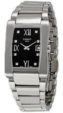 Tissot Generosi-T Diamond Accented Black Dial Ladies Watch T0073091105600