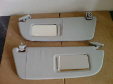 VAUXHALL CORSA C DRIVERS & PASSENGER SIDE SUN VISORS WITH CLIPS