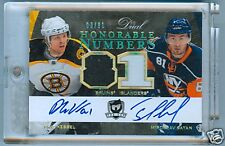 KESSEL & SATAN 07-08 THE CUP AUTO DUAL PATCH #3/81