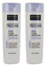 2 x JOHN FRIEDA FRIZZ EASE CURL AROUND ENHANCING CURLS DEFINING CONDITIONER