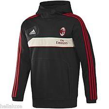 NWT~Adidas AC MILAN SWEAT SHIRT HOODY Jersey TRAINING Footall Soccer Top~Mens XL