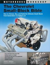 Chevy Small-Block Bible How to Build GM LS1 LS2 LS3 LS6 LS7 LS9 Chevrolet Engine