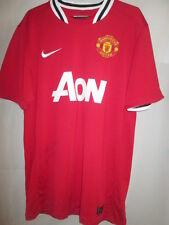 Manchester United Valencia Signed 2011-2012 Home Football Shirt with MU COA