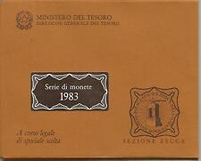 ITALIA REPUBBLICA 1983 DIVISIONALE SERIE ZECCA FDC