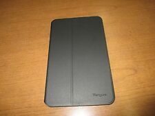 GENUINE!! TARGUS EVERVU ROTATABLE BLACK CASE FOR SAMSUNG TAB 4 THZ449 / CL
