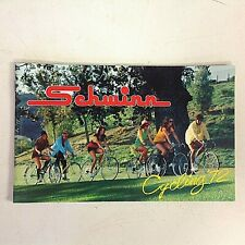 Vintage 1972 Schwinn Cycling '72 Bicycle Merchandise Catalog Stingray Stardust