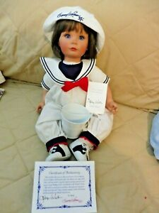 """SUSAN WAKEEN DOLL """"LITTLE JACK"""" WITH BUCKET & COA (LIMITED EDITION #100 of 750)"""