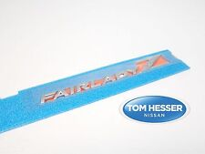 "JDM Nissan Z33 350Z ""Fairlady Z' Rear Emblem Badge Genuine OEM"