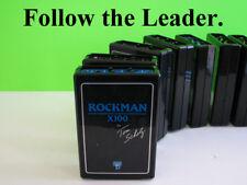 (1) Tom Scholz R&D Rockman Model X100 Rev 10 Guitar Effects Headphone Amplifier