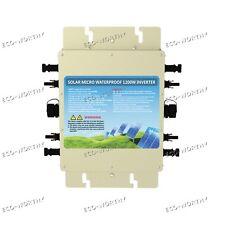 1200W 230V Waterproof Grid Tie Inverter W/ MPPT Function MC4 For Solar Panel