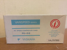 NIB Yaskawa PG-D2 Speed Controller Card