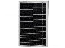 Placa solar fotovoltaica 12V 20W Marco Aluminio Panel solar  se envía de ESPAÑA