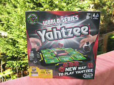 World Series Of Yahtzee Game By Hasbro~New & Factory Sealed!