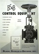 Black Sivalls & Bryson Catalog ASBESTOS Control Valve Packing 1956