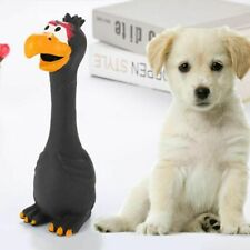 Toy Screaming Squeaky Dog Chicken Interactive Sounding Bite Resistant Pet Rubber