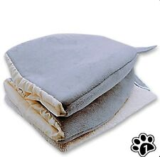 Foldable Cat Bed Self Warming for Indoor Cats Dog House