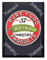 Historic Heinz Foods, 1900 Advertising Postcard