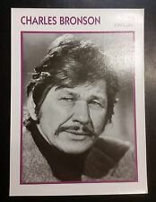 American Death Wish Actor Charles Bronson French Film Trade Card
