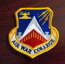 USAF FLIGHT SUIT PATCH, AIR WAR COLLEGE