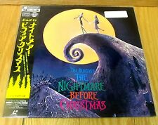 THE NIGHTMARE BEFORE CHRISTMAS LETTERBOX  LASERDISC BRAND NEW & FACTORY SEALED