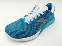 Reebok CrossFit Womens Nano 9 Training Shoes Blue/White Size 7.5