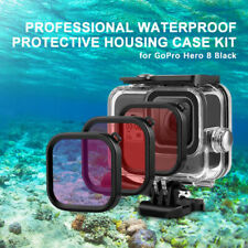 Camera Accessories Kit for GoPro Hero 8 Underwater Diving Housing Shell Filter