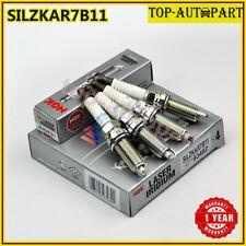 Set of 4pcs NGK SILZKAR7B11 93482 Laser Iridium Spark Plugs For Subaru Forester