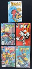 Demon 40, 41, 42, 43, 44, & 45  lot of 5 vfn+ 1993/4 horror DC Comics   G. Ennis