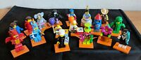 LEGO 71021 Minifigures Series 18 Complete set OF 17 WITH POLICE OFFICER