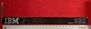 IBM System 360 Console Header/Banner/Masthead off mainframe CPU Console
