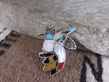 Vintage 1970's Bobby and Corraine Shack hummingbird Ring size 6.25