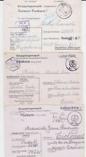 GERMANY WW II STALAG 12B POW COVER COLLECTION