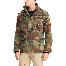 RALPH LAUREN Camouflage M65 Military Jacket, Size S (fits M)