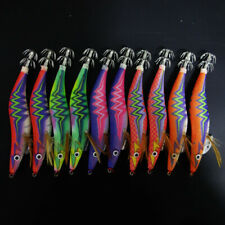 10x YAMASHITA 3.5 Glow in Dark Rattle Squid JIgs Squid Egi Shrimp jigs