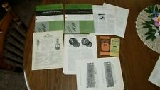 Lot 7 Data Manuals Rectifier,Diode Triode Circuit Breaker Fuses Cross Reference