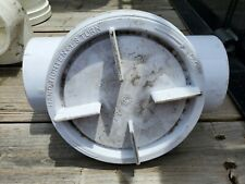 """Oatey 4"""" Large Opening Cleanout Tee PVC DWV Fitting"""