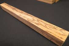 "ZEBRAWOOD LUMBER  1 1/2"" x 18"" TURNING BLANK BOTTLE STOPPERS CUES CALLS SCALES!!"