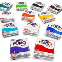 FIMO Soft Polymer Modelling Clay Starter Set of 12 x 57g Clays - Starter Colours