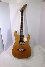 Epiphone El Diablo Natural w/ Soft Case (Fender Stratacoustic w/Gibson Expl