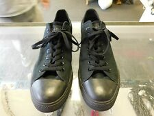 Converse black low top canvas men size 11.5 shoes sneakers free shipping