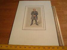 Rudolph Virchow Vanity Fair VINTAGE print Petrolagar Inc Science caricature