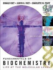 Fundamentals of Biochemistry by Donald Voet, Judith Voet, Charlotte Pratt