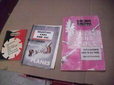 Three Vintage Craftsman Tool Booklets