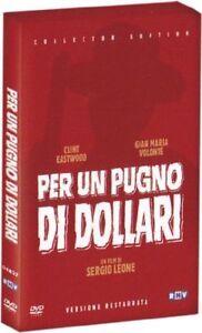 Dvd Per Un Pugno Di Dollari (Versione Restaurata) (Collector's Edition) ...NUOVO