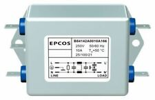 EPCOS B84142-A Series 20A 250 V ac 60Hz Flange Mount RFI Filter, with Screw Term