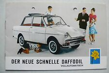 Prospekt DAF Daffodil totalmente automática, 9.1963, 8 páginas, din a5