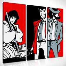 Quadri Dipinti a Mano su Tela Canvas Quadro Lupin Pop Art per Soggiorno Salone